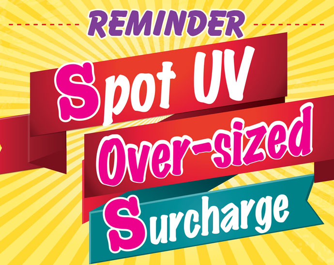 spotuv over-sized surcharge